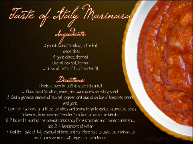 Young Living Taste of Italy Marinara